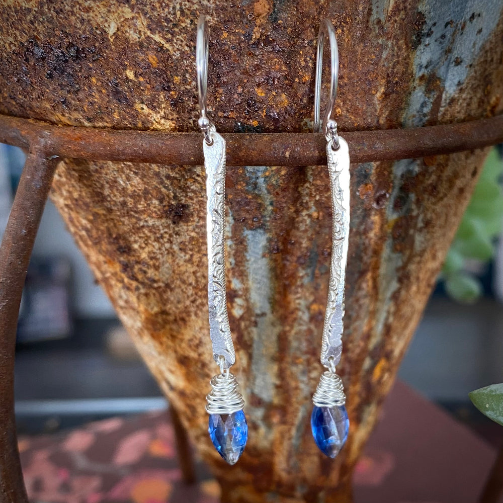 NEW Sticks & Stones Earrings in Kyanite