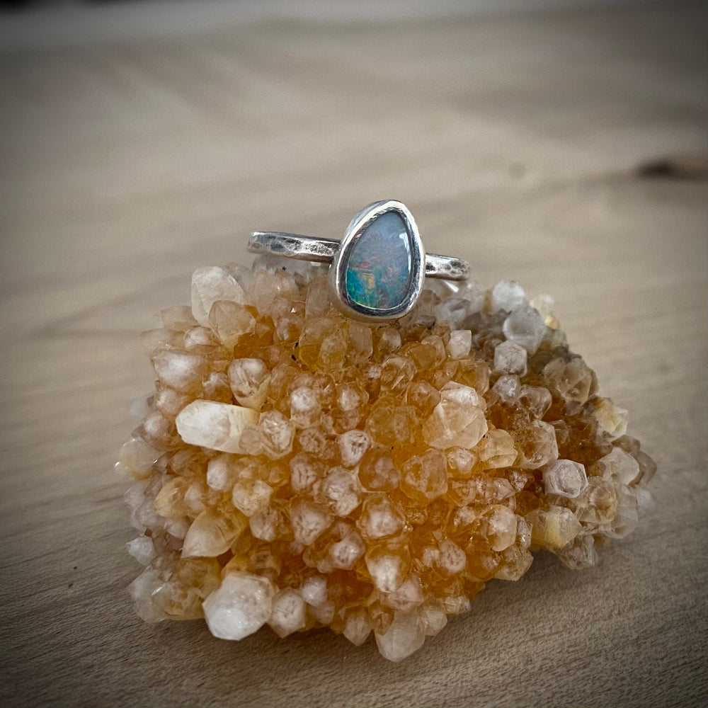 NEW Sundog Opal Ring