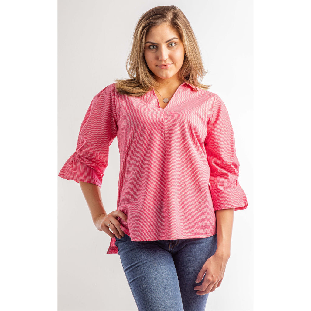 Pink Posy Top