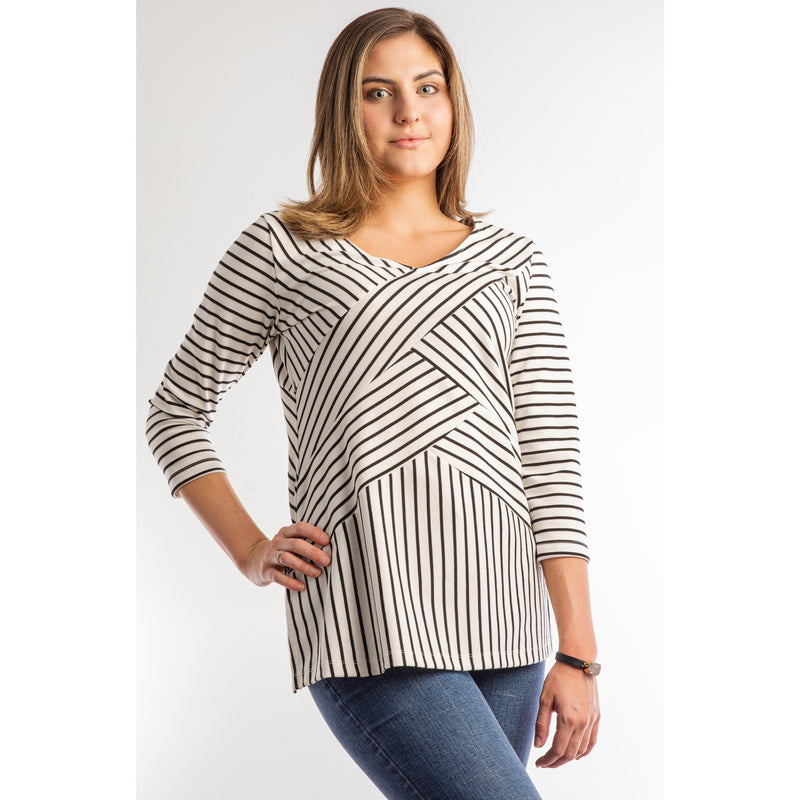 Springtime Stripes Top