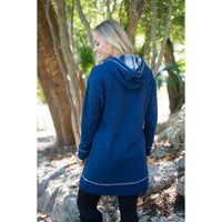 Blue Angel sweatshirt dress