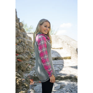 Fearless Plaid Tunic