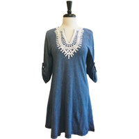 Always Graceful Embroidered Dress