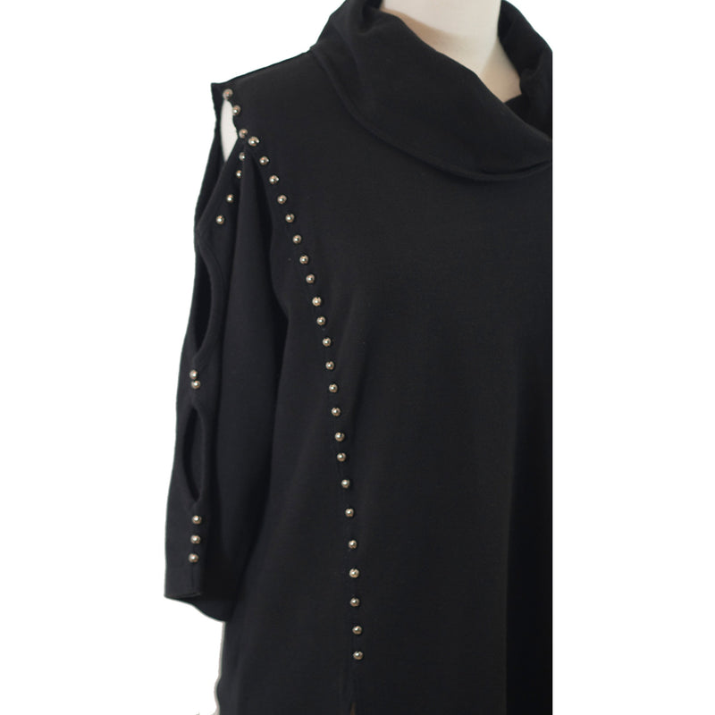 Cozy Chic tunic in black