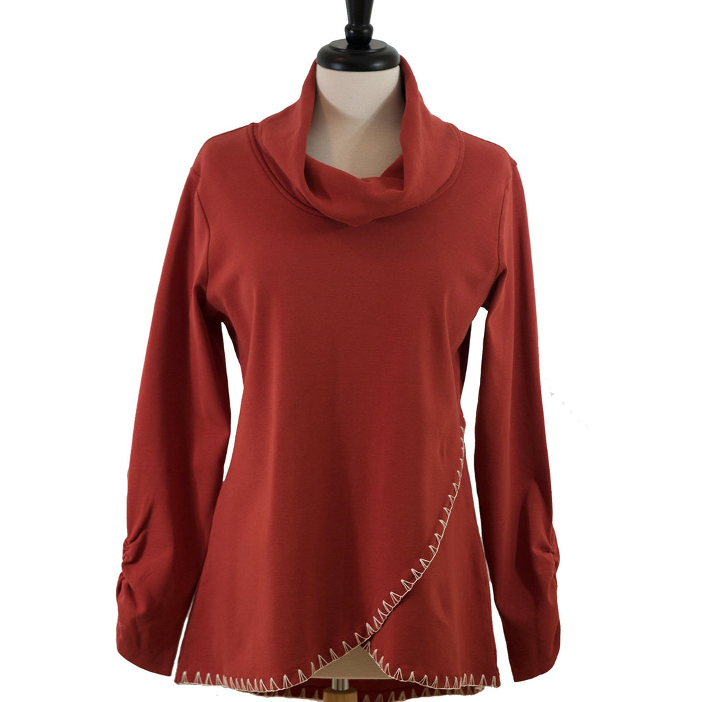 Autumn Leaves tulip tunic / Rustic Autumn Tulip Tunic