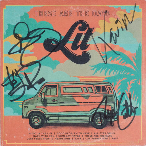 These Are The Days - Signed CD