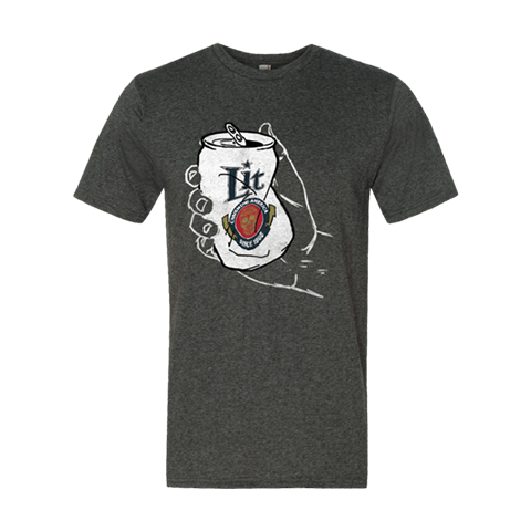 Crushing Beer Can T-shirt