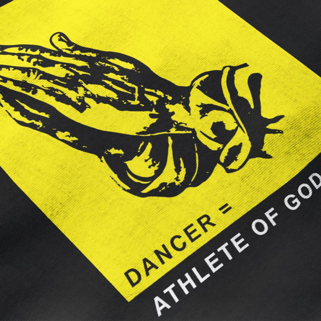 DANCER = ATHLETE OF GOD - Unisex Tshirt