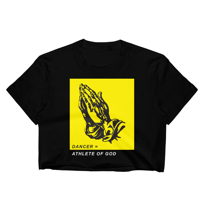 DANCER = ATHLETES OF GOD - Crop Shirt