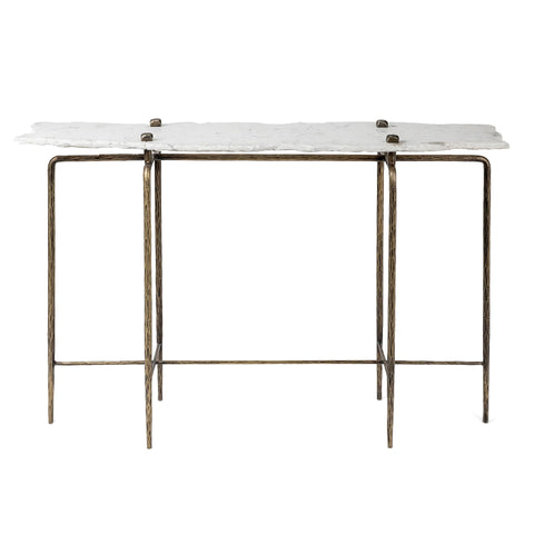 Kenora Marble Console Table