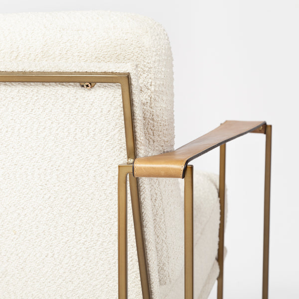 Mason Cream Accent Chair