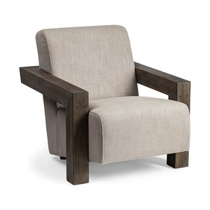 Reign Beige Accent Chair