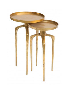 Cosmo Antique Gold Table Set