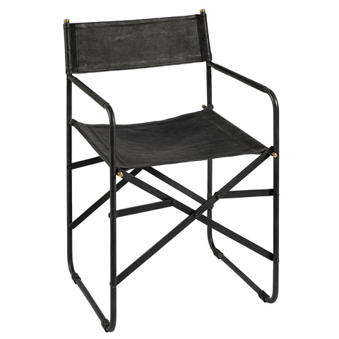 Osa Black Accent Chair
