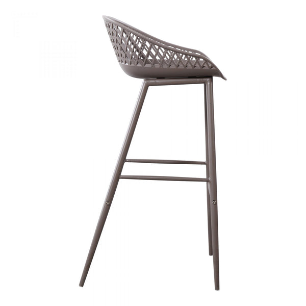 Plazza Grey Bar Stool