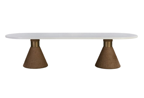 Ricci White Dining Table