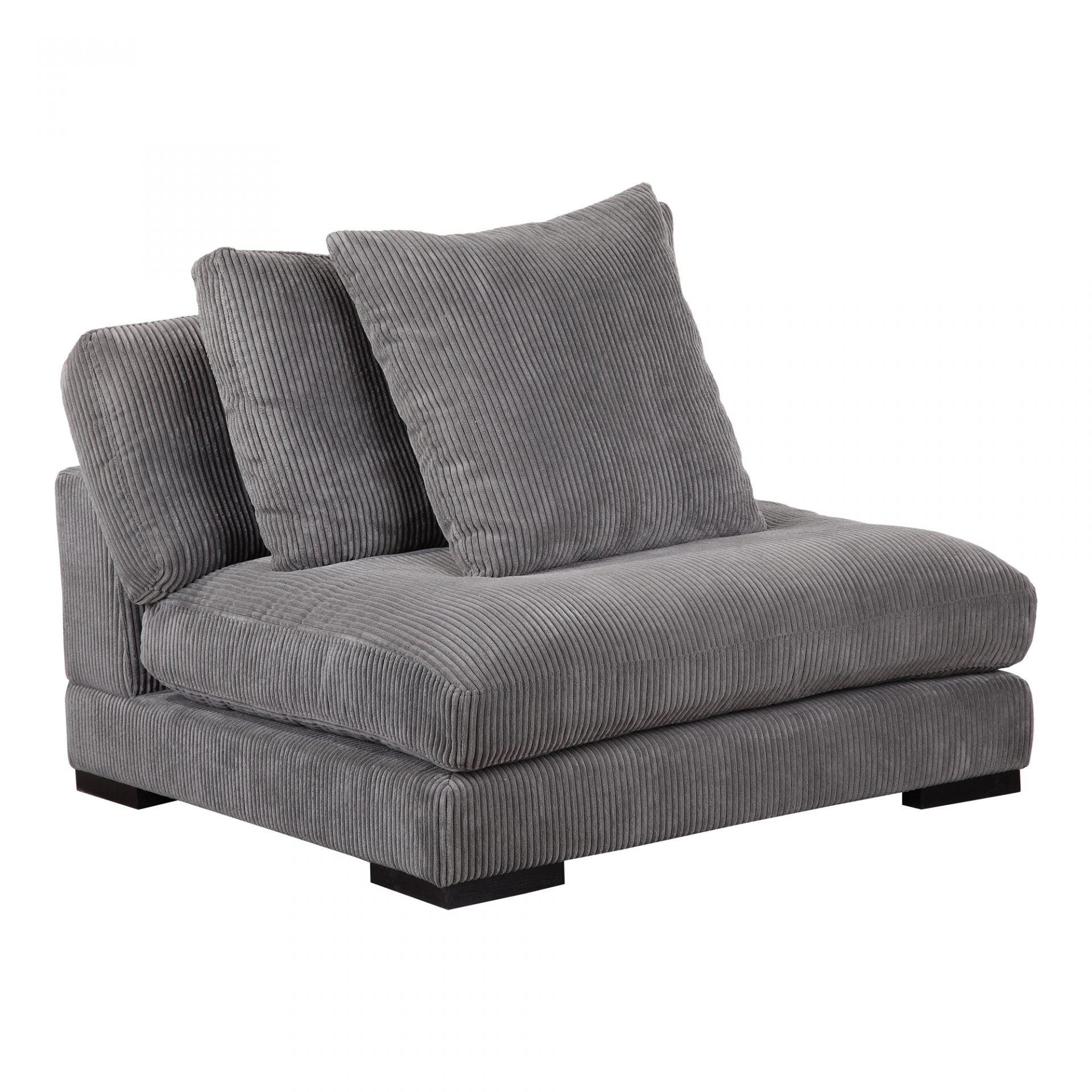 Bequem Slipper Chair Charcoal