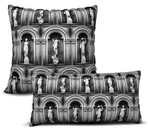 Deity - Noir Pillow Cover