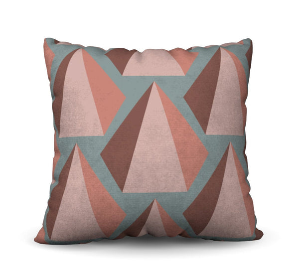 Uxmal - Agua Pillow Cover