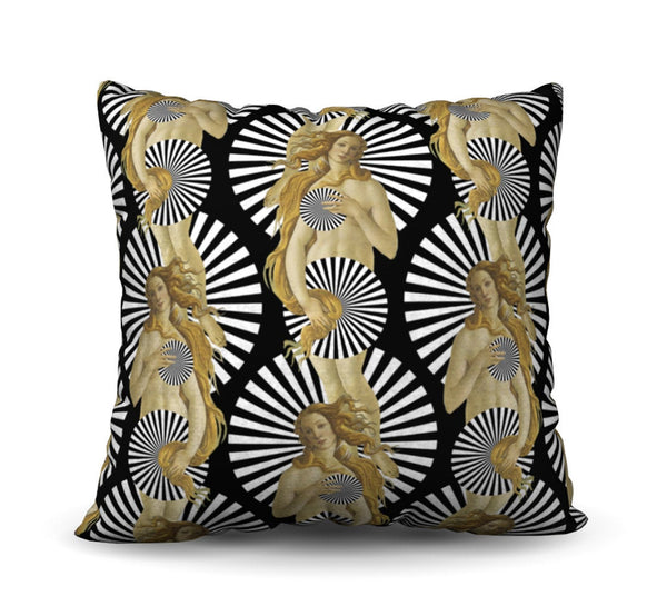 Venus - Noir Pillow Cover