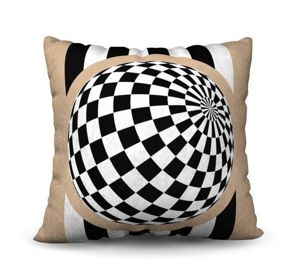 Illusionist Pillow Cover