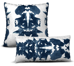Rorschach - Santa Monica Pillow Cover