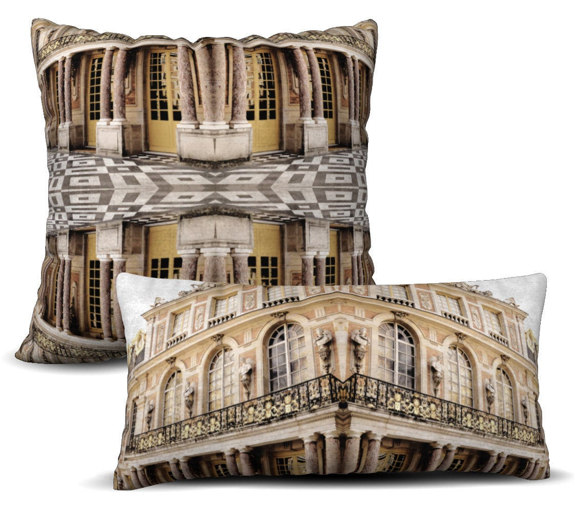 Versailles - Natural Pillow Cover