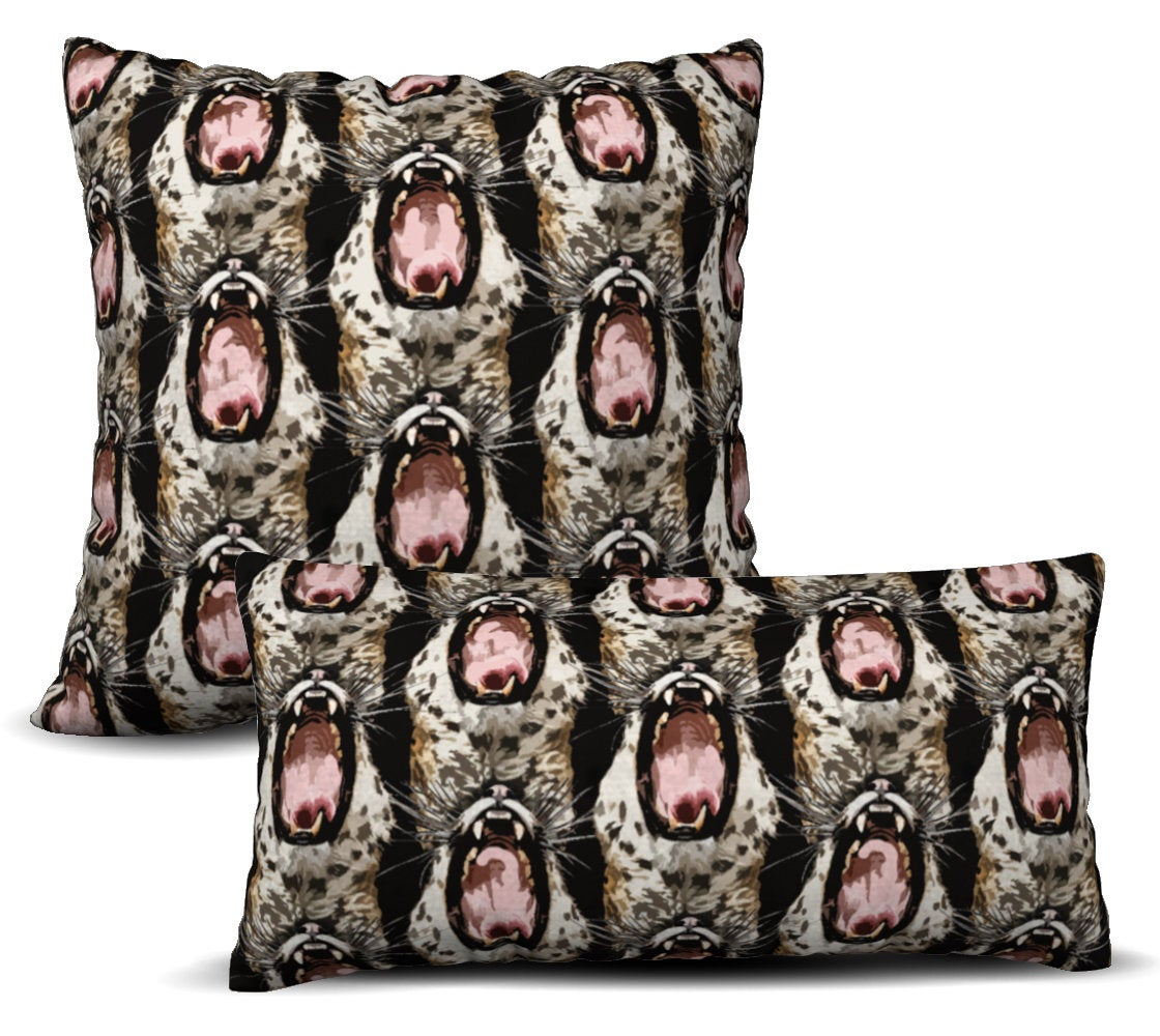 Predator - Natural Pillow Cover