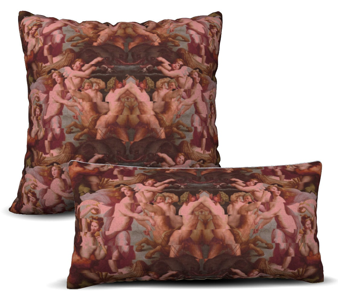 Galatea - Rose Pillow Cover