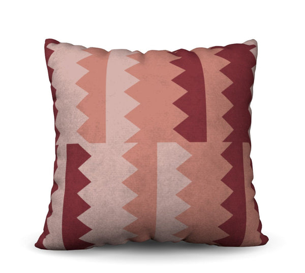Terracotta Rose Pillow Cover