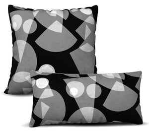 Desnudo - Noir Pillow Cover