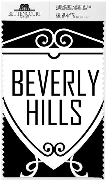 THE BEVERLY - NOIR - Textile