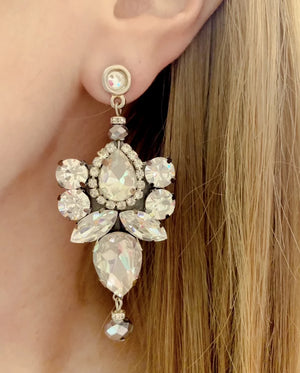 Silver Vera Earrings