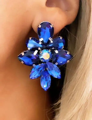 Blue Aria Earrings