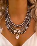 Silver Milano Statement Necklace