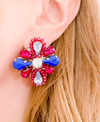 Pink & Blue Isla Earrings