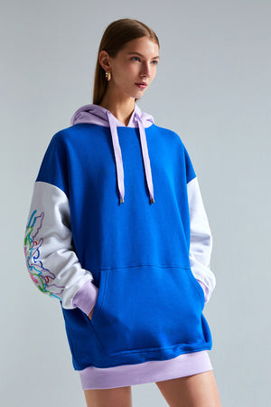 Floa Embroidered Hoodie