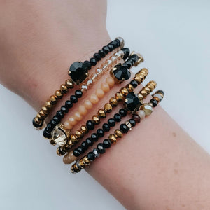 Black & Gold Cali Bangles