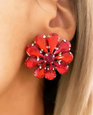 Red Sydney Earrings