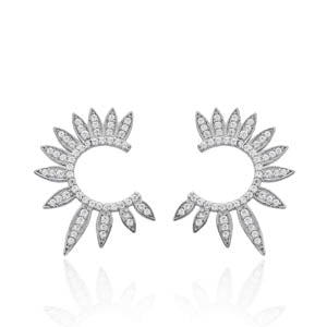 Sun Rays Earrings / Studs