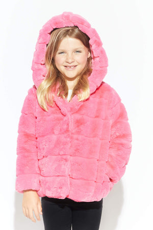 Bubble Pink Goldie Kids Jacket
