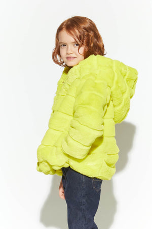 Neon Yellow Goldie Kids Jacket