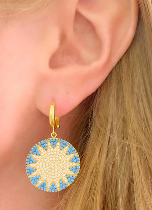 Big Sun Earrings