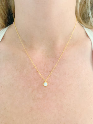 Single Glint Necklace