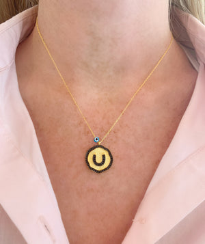 Horseshoe Medallion Necklace