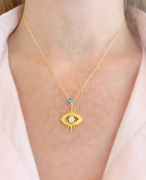 Eye Shine Necklace