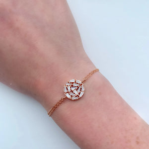 Circle Ice Blocks Bracelet