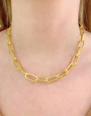Thick Long Link Chain Necklace