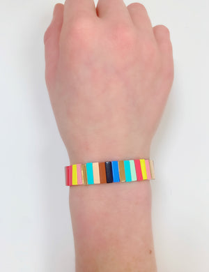 Rectangle Rainbow Bracelet