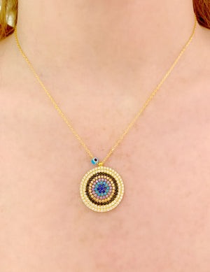 Medium Eye Necklace